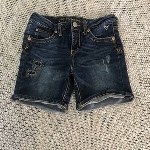 Justice Jean Shorts Girls Size 14S